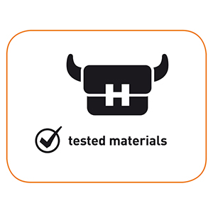 TESTED MATERIALS
